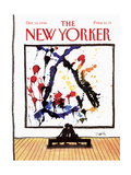 The New Yorker Cover - October 15, 1990 Giclee Print by Donald Reilly