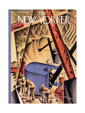 The New Yorker Cover - May 2, 1931 Premium Giclee Print by Theodore G. Haupt