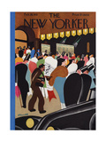 The New Yorker Cover - February 28, 1931 Premium Giclee Print by Theodore G. Haupt