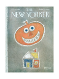 The New Yorker Cover - October 26, 1968 Premium Giclee Print by Charles E. Martin