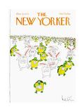 The New Yorker Cover - October 22, 1979 Giclée-Druck von Arnie Levin