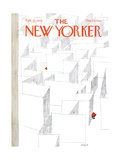 The New Yorker Cover - February 13, 1978 Giclee Print by Robert Weber