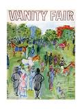 Vanity Fair Cover - August 1934 Premium Giclee-trykk av Raoul Dufy