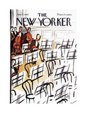 The New Yorker Cover - January 23  1965