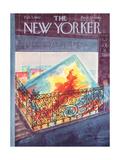 The New Yorker Cover - February 3, 1962 Giclee Print by Anatol Kovarsky