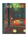 The New Yorker Cover - January 26, 1963 Giclee Print by Robert Kraus