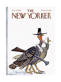 The New Yorker Cover - November 27, 1965 Premium Giclee Print by Frank Modell