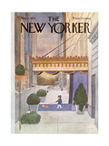 The New Yorker Cover - March 8, 1976 Premium Giclee Print by Charles E. Martin