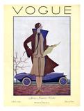 Vogue Cover - March 1926 Gicléetryck av Georges Lepape