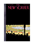 The New Yorker Cover - August 10, 1929 Premium Giclee Print by Theodore G. Haupt