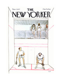 The New Yorker Cover - November 7, 1977 Giclee Print by Charles Saxon