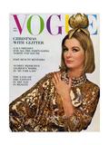 Vogue Cover - December 1963 Premium gicléedruk van Bert Stern