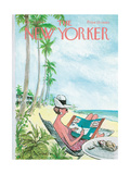 The New Yorker Cover - December 12, 1964 Giclee Print by Charles Saxon