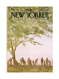 The New Yorker Cover - May 20, 1972 Premium Giclee Print by James Stevenson