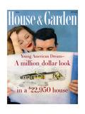 House & Garden Cover - May 1958 Giclee Print by Karen Radkai