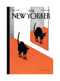 The New Yorker Cover - October 30, 2006 Giclée-Druck von Ian Falconer