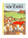 The New Yorker Cover - August 26, 1961 Premium Giclee Print by William Steig