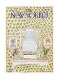 The New Yorker Cover - August 1, 1977 Giclee Print by Robert Weber