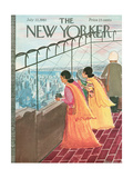 The New Yorker Cover - July 22, 1961 Premium Giclee Print by Anatol Kovarsky