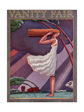 Vanity Fair Cover - April 1926 Premium Giclee Print by Pierre L. Rigal