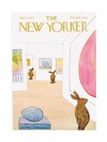 The New Yorker Cover - April 1, 1972 Premium Giclee Print by James Stevenson