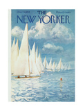 The New Yorker Cover - June 13, 1959 Giclee Print by Arthur Getz