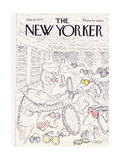 The New Yorker Cover - July 15, 1974 Giclee Print by Edward Koren