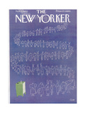 The New Yorker Cover - November 5, 1960 Premium Giclee Print by Charles E. Martin