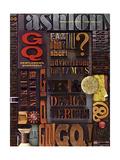 GQ Cover - February 1965 Giclee Print by Leo Kaplan