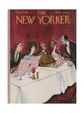 The New Yorker Cover - September 16, 1961 Giclee Print by Charles Saxon