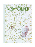 The New Yorker Cover - March 15, 1976 Giclee Print by James Stevenson