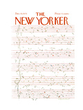 The New Yorker Cover - December 15, 1975 Giclee Print by James Stevenson