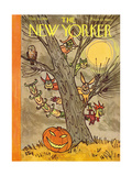 The New Yorker Cover - October 31, 1959 Giclee Print by William Steig