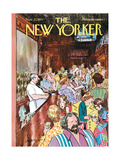 The New Yorker Cover - November 27, 1971 Giclee Print by Charles Saxon