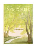 The New Yorker Cover - June 1, 1981 Premium Giclee Print by Charles E. Martin