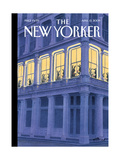 The New Yorker Cover - April 13, 2009 Giclée-tryk af Harry Bliss