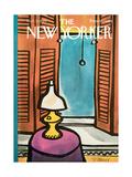 The New Yorker Cover - November 22, 1969 Giclee-trykk av Donald Reilly