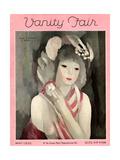 Vanity Fair Cover - May 1929 Gicléetryck av Marie Laurencin