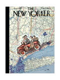 The New Yorker Cover - August 7, 1937 Giclee Print by William Steig