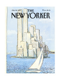 The New Yorker Cover - July 19  1982
