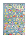 The New Yorker Cover - May 15, 1965 Premium Giclee Print by Anatol Kovarsky