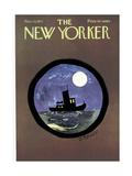 The New Yorker Cover - November 13, 1971 Giclee-trykk av Donald Reilly