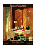 House & Garden Cover - July 1922 Giclee Print by Clayton Knight