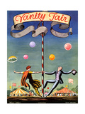 Vanity Fair Cover - May 1923 Giclee Print by Kent Rockwell