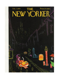The New Yorker Cover - February 7, 1959 Giclee Print by Robert Kraus