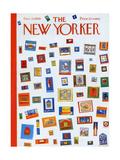 The New Yorker Cover - December 13, 1958 Giclee Print by Anatol Kovarsky