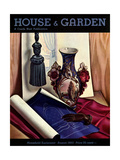 House & Garden Cover - August 1933 Giclee Print by Edna Reindel
