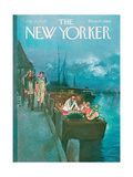 The New Yorker Cover - July 25, 1964 Giclee Print by Charles Saxon