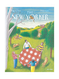 The New Yorker Cover - August 31, 1992 Giclee Print by Bob Knox