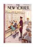 The New Yorker Cover - February 26, 1938 Giclee Print by Helen E. Hokinson